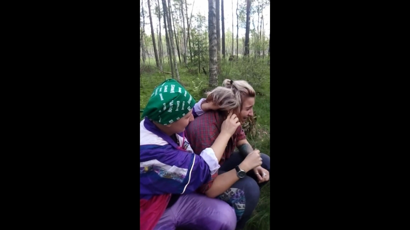 Хиттолово. в лесу