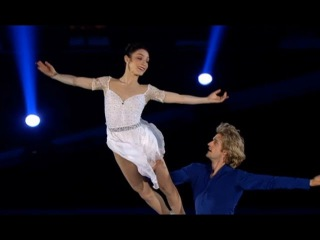 Meryl Davis Charlie White-The Gaul - a concert of Olympic champions 2014 in Moscow (Russian TV)