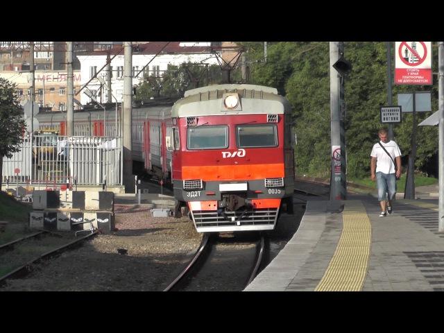 Электропоезд ЭД2Т-0035 платформа Станколит