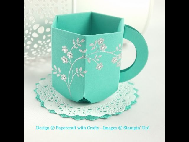Envelope Punch Board Teacup