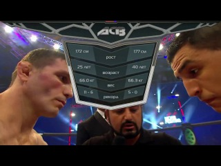 ACB 41: Suleiman Bouhata vs Marat «The Motivator» Balayev