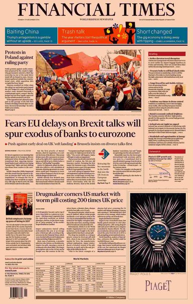 Financial Times UK  December 19 2016