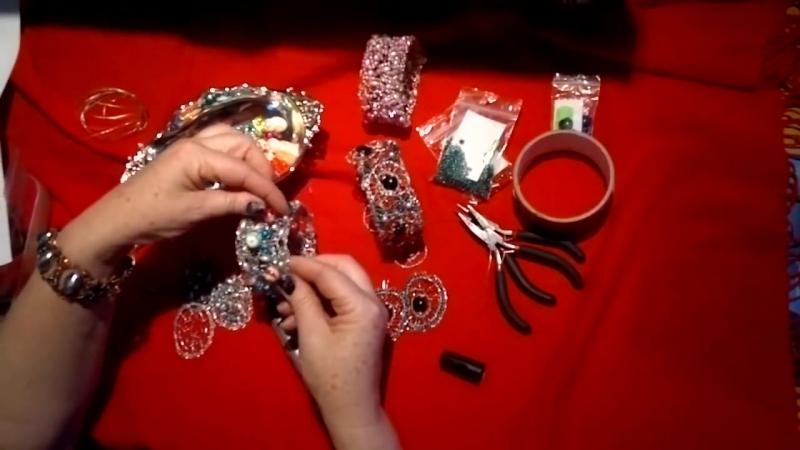 Браслеты,серьги.Мастер-класс.Проволока,бусины,бисер.Wrist,strap beaded jewelry » FreeWka - Смотреть онлайн в хорошем качестве