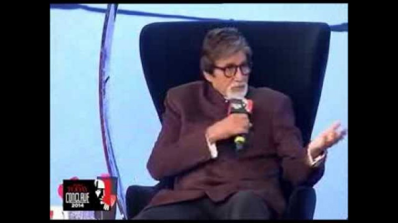 There are times when you understand you are not the best says Amitabh Bachchan