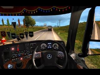 ETS 2 - Euro Truck Simulator 2[Обычная поездка с братом в записи #10]
