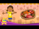 Do you like pizza? I like pizza. (Liking) - English lovely song - Let's sing