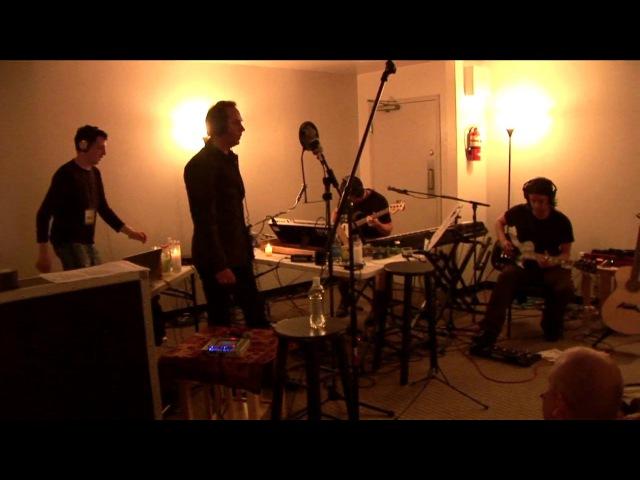 Reptile live 6.23.06. Trent Reznor, Peter Murphy, Atticus Ross, Jeordie White.