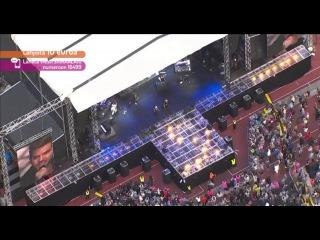 [HD cap] 2015-06-06 Adam Lambert - Ghost Town - Live Aid Finland