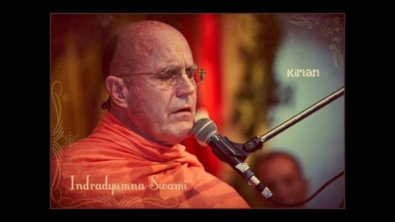 Бхакти Сангама 2013 - ЕС Индрадьюмна Свами - Вечерний киртан, 16.09.2013