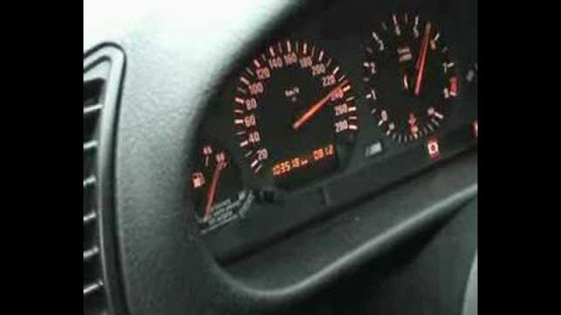 BMW M3 e36 3 2L test 100 200 V max accel en 6eme 0 240