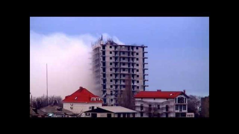Взрыв 16 этажного дома в Севастополе 26.12.2014 EPIC FAIL