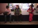 Argentine tango flash mob, Budapest tango flashmob a la Tango Libre with bandoneon dancing