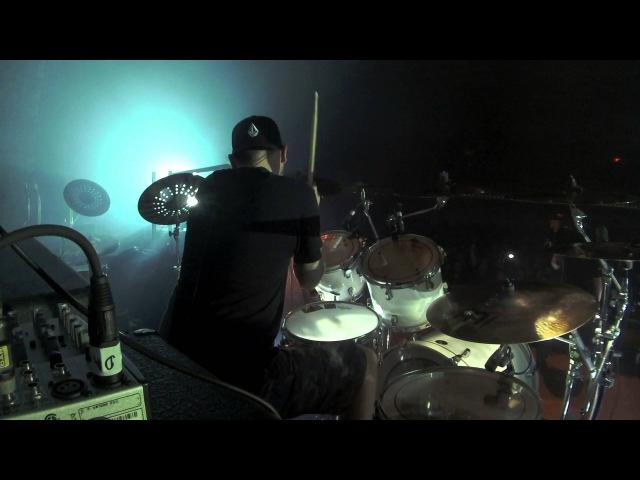 Dan Wilding Carcass Heartwork Live in Nashville Drum Cam