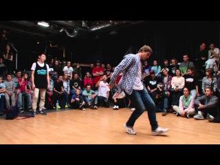|V1 Battle| Devol & bkay (Roxy crew) VS The Freshest Kids