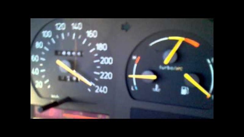 Saab 9000 Turbo 204cv in Deusch Autobahn
