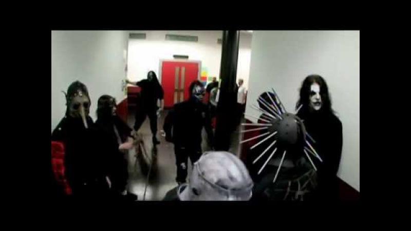 Slipknot before concert AHIG tour