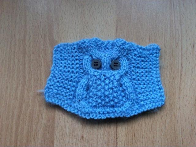 Modelul Bufnita pentru incepatori Узор Сова Knitting Pattern Owl step by step