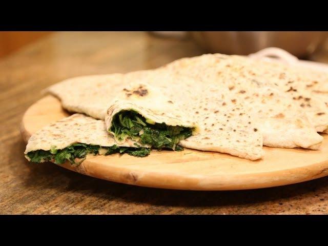 How To Make Armenian Jingalov Hats Flat Stuffed Bread Recipe With Greens by Heghineh