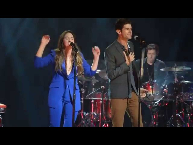 Sara Bareilles and Drew Gehling Bad Idea from Waitress