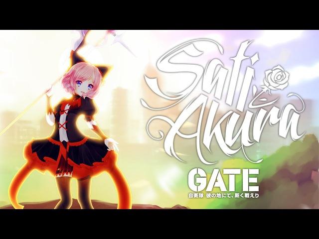 GATE OP RUS FULL GATE Sore wa Akatsuki no you ni Cover by Sati Akura