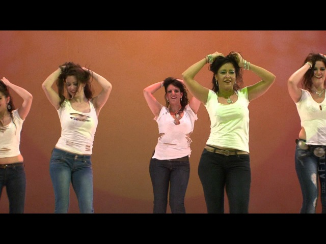 Mercedes Nieto The Nymph Oriental Dance Co. - Drum solo