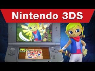 Nintendo 3DS - Hyrule Warriors Legends E3 2015 Trailer