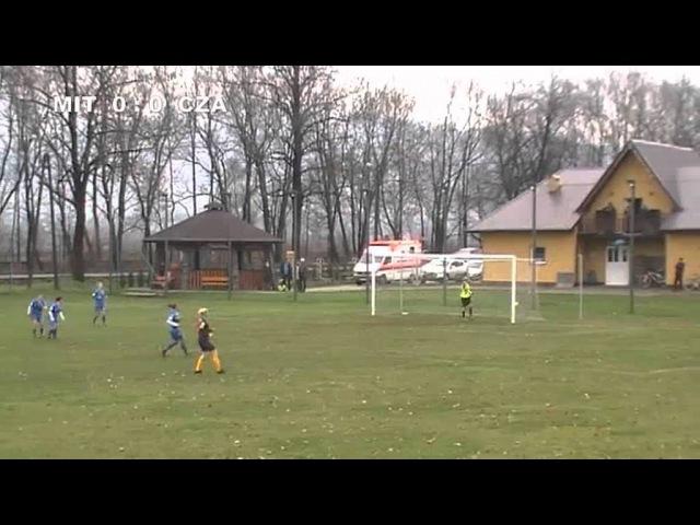 Skrót meczu TS Mitech Żywiec Czarni Sosnowiec 21 11 2015 r