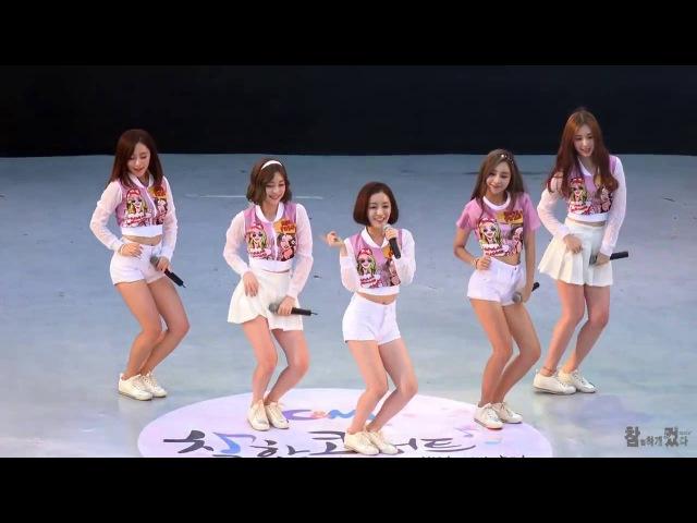 Танец кореянок TREND D CANDY BOY