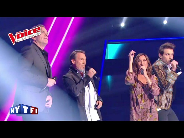 The Voice 2016│Zazie, Garou, Mika et Florent Pagny - Sweet Dreams (Eurythmics)│Prime 2