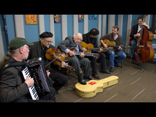 Bucky Pizzarelli and Pearl Django 'I'll See You In My Dreams' | Live Studio Session
