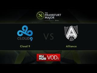 Cloud 9 vs Alliance, Fall Major, LB Round 1