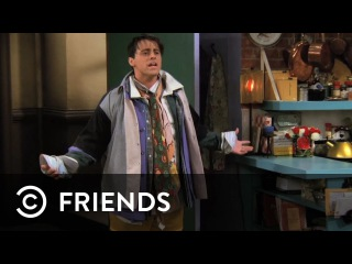 Joey Wears All Of Chandler's Clothes   Friends