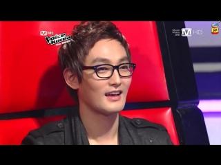 JAM   The Voice Korea - Kang Mi Jin vs Lee Chan Mi (Maria by Kim Ah Joong) (русс. саб.)