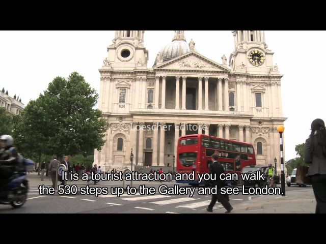 English - London sightseeing (A1-A2 - with subtitles)