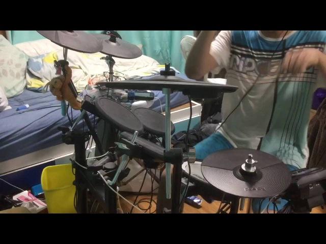 『UNDEAD CORPORATION』Everything Will Freeze【叩いてみた】【drum cover】【ドラム】エリヤ ElijahDRUM