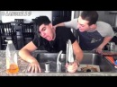 How I feel when I'm washing dishes and someone adds another dish w Christian Delgrosso
