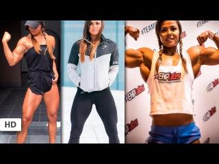 SOPHIE ARVEBRINK Fitness Model: Training Back, Legs, Shoulders and Special Arms Workouts # Sweden