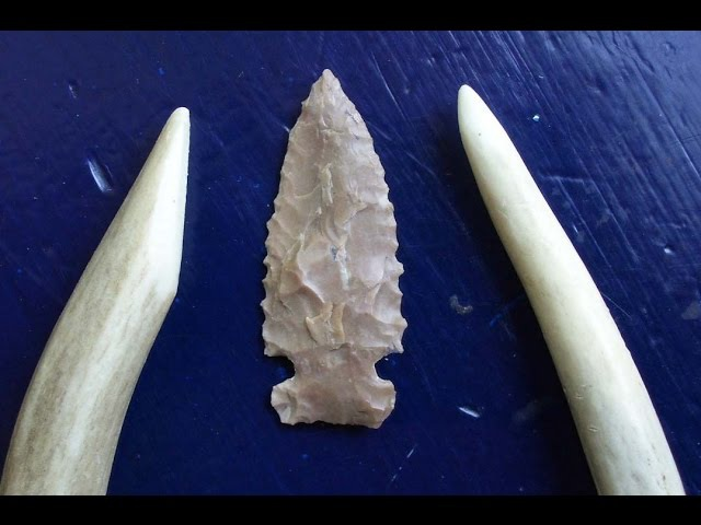 Make Your Own Antler Flintknapping Tools HD