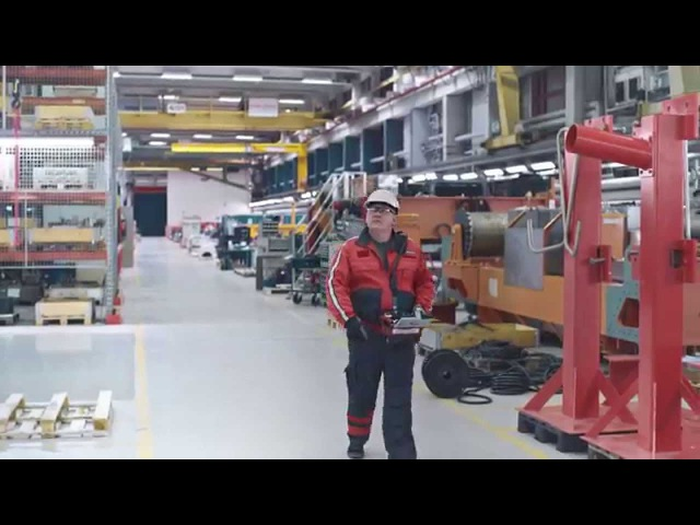 Konecranes introduces the latest technology developed for industrial cranes