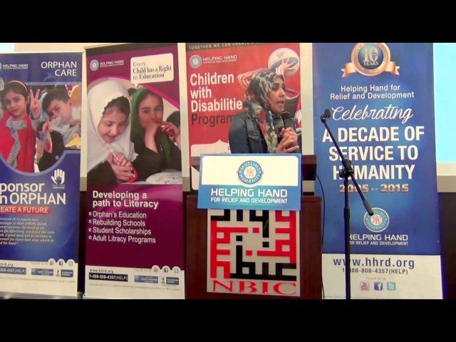 Yasmin Mogahed Helping Those Who Suffer