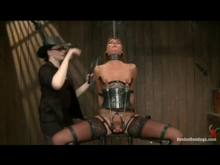 Cassandra Nix Mz Berlin Asa Archer in Skilled Mistresses And A Sweet Sex Slave - Clip From Kink  Device Bondage