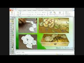 Декупаж. Объемный декор и применение лепки для оформления в своих работах