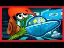 ✔ Улитка боб snail bob 4 – Мультик ИГРА для детей Космонавт ✔