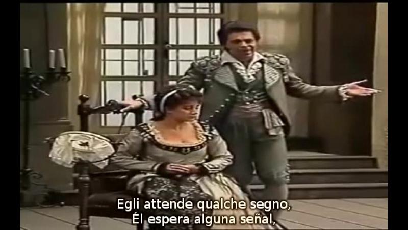 Cecilia Bartoli - Gino Quilico - Dunque io son de Il Barbiere di Siviglia de Rossini (subtítulos español e italiano)