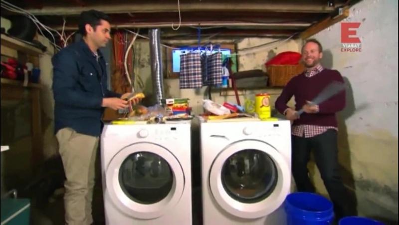 Bunu Asla Evde Yapmayın - Çamaşır ve Bulaşık Makinesinde Atıştırmlık Hazırlama,Tenis Topu Makinesi,Creme Brulee Yapma