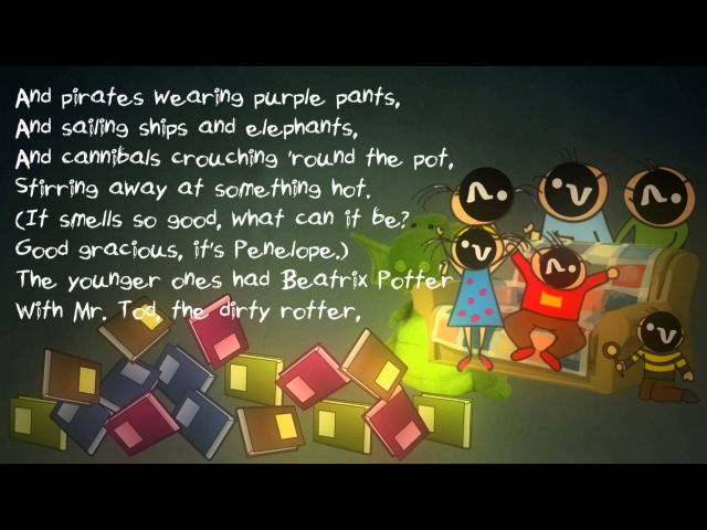 Television by Roald Dahl - Poetry Reading