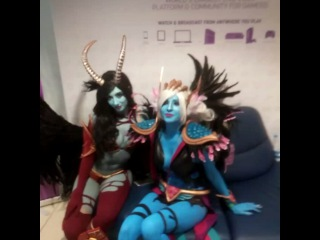 """Twitch Chat Reporter on Instagram: """"BLUE COSPLAYERS"""""""