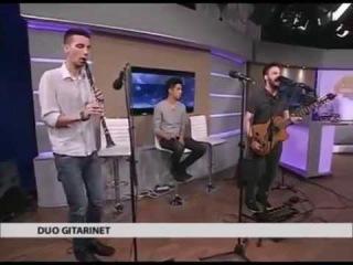 Duo Gitarinet - It's A Pity (Live at Studio B)