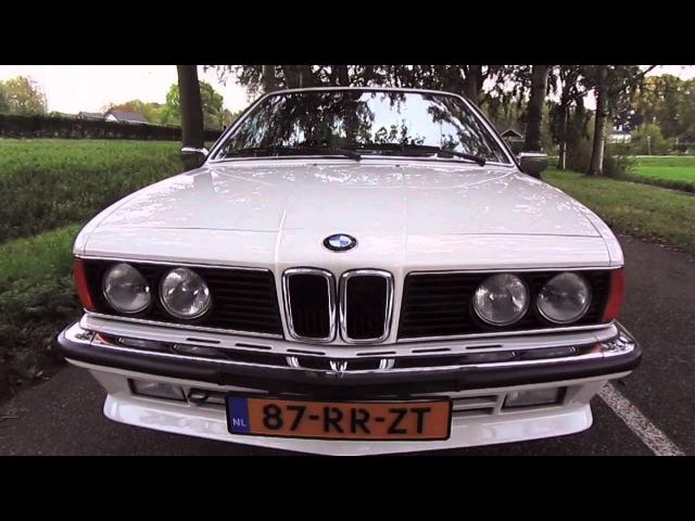 BMW 635 CSi E24 Sharknose - 1987 - LekkerSturen.nl - SOLD