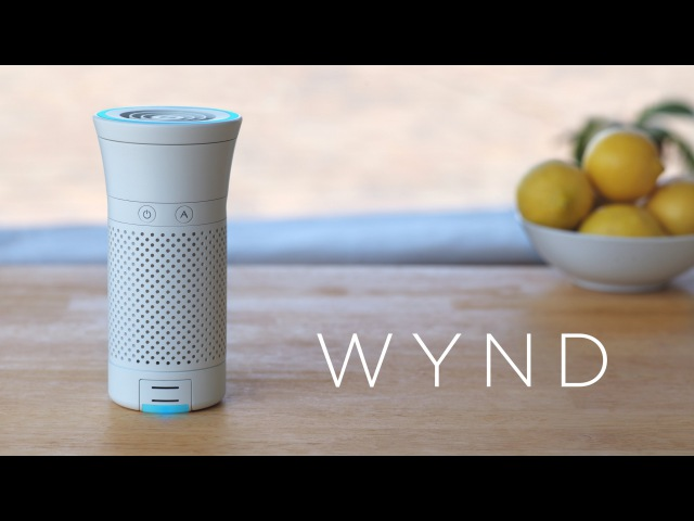 Wynd: The smartest air purifier for your personal space (crowdfunding edition)